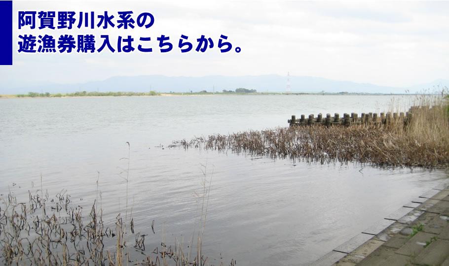 阿賀野川水系の遊漁券購入はこちらから。